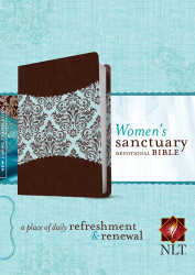 Women's Sanctuary Devotional Bible NLT TuTone