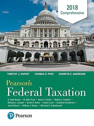 Pearson's Federal Taxation Comprehensive