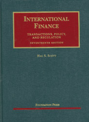 International Finance Transactions Policy And Regulation