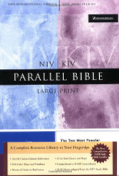 NIV/KJV Parallel Bible Large Print