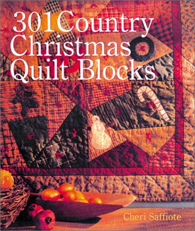 301 Country Christmas Quilt Blocks