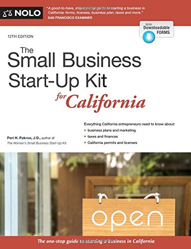 Small Business Start-Up Kit for California