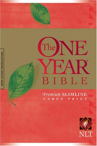 One Year Bible Premium Slimline