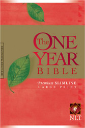 One Year Bible Premium Slimline