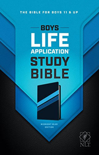 Boys Life Application Study Bible NLT TuTone