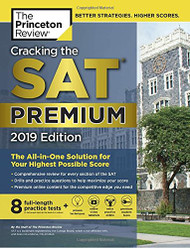 Cracking the SAT with 8 Practice Tests 2019