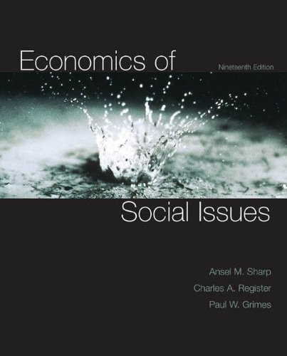 Economics Of Social Issues