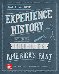 Experience History Volume 1 to 1877