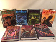 1-st Edition Harry Potter Full Book Set Volumes 1-7 Hardcover