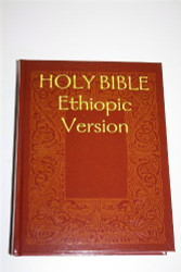 HOLY BIBLE Ethiopic Version / Volume 1 Containing the Old Testament Apocrypha Enoch 1 2 and Jubilees considered as Canon / Etiopina Bible considered as canon by the Ethiopic Church