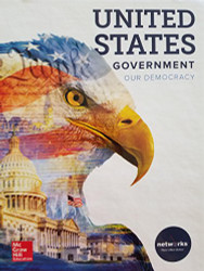 United States Government; Our Democracy c 2018 9780076681136 0076681130