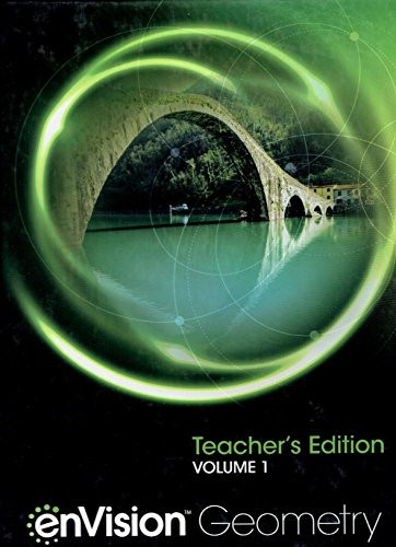 enVision Geometry Teacher's Edition Volume 1 9780328931804 0328931802 2018