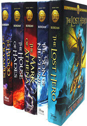 Heroes of Olympus Collection 5 Books Set Collection by Rick Riordan