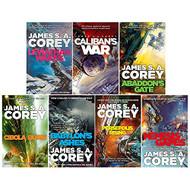 James S. A. Corey Expanse Series 7 Books Collection Set