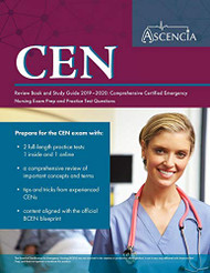 CEN Review Book and Study Guide 2019-2020