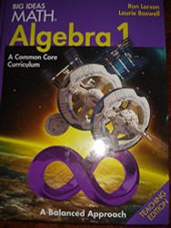 BIG IDEAS MATH Algebra 1