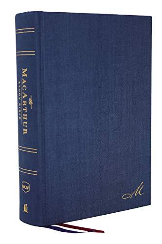 Macarthur Study Bible NKJV Version