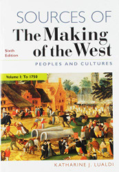 Sources of the Making of the West Volume 1