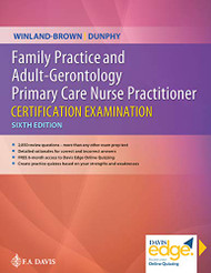 Family Practice & Adult-Gerontology Primary Care Nurse Practitioner Exam