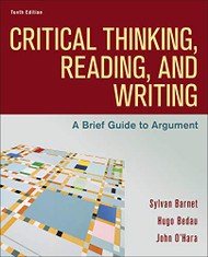 Critical Thinking Reading and Writing