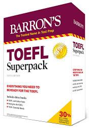 Barron's TOEFL Superpack