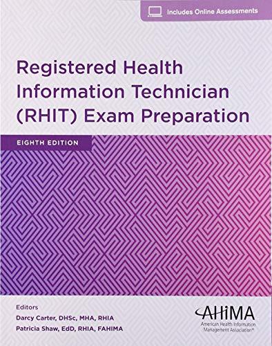Registered Health Information Technician Exam Preparation