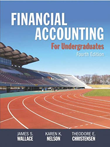 Financial Accounting for Undergraduates
