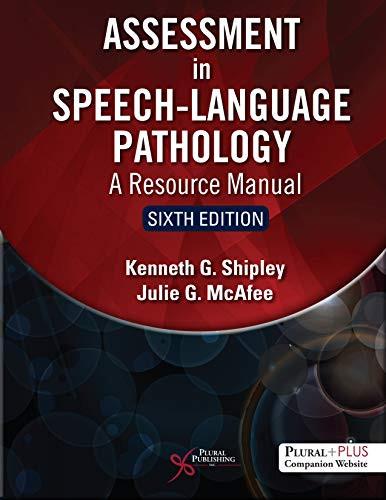 Assessment in Speech-language Pathology