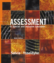 Assessment In Special and Inclusive Education  - Salvia