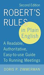 Robert's Rules in Plain English