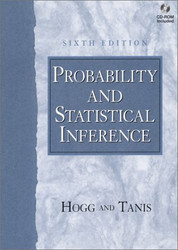 Probability and Statistical Inference  by Hogg