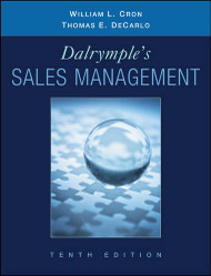 Dalrymple's Sales Management: Concepts and Cases