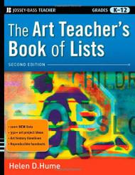 Art Teacher's Book of Lists (J-B Ed: Book of Lists)