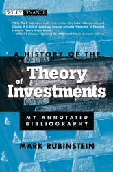 History of the Theory of Investments