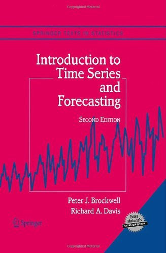Introduction To Time Series And Forecasting