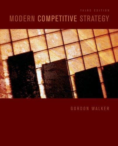 Modern Competitive Strategy