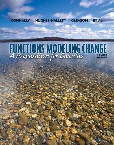 Functions Modeling Change