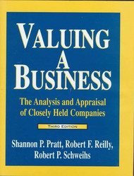 Valuing A Business by Shannon P Pratt