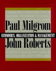 Economics Organization and Management