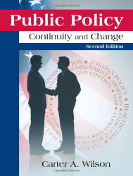 Public Policy: Continuity and Change