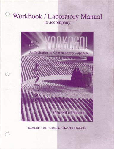 Workbook/Laboratory Manual To Accompany Yookoso!