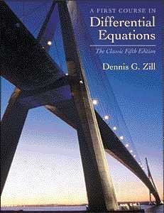 Course In Differential Equations