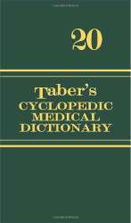 Taber's Cyclopedic Medical Dictionary Thumb-Indexed Version
