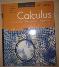 Calculus: Graphical Numerical Algebraic