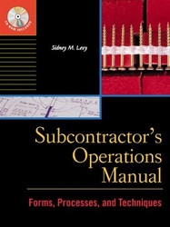 Subcontractor's Operations Manual