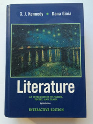 Literature: An Introduction to Fiction Poetry and Drama