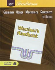 Warriner's Handbook First Course