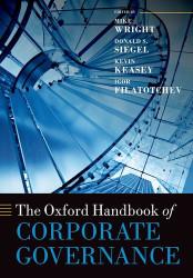 Oxford Handbook of Corporate Governance