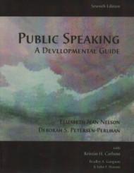 Public Speaking A Developmental Guide