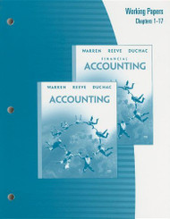 Working Papers Chapter 1-17 For Warren/Reeve/Duchac's Accounting 2 And Financial Accounting